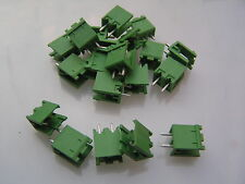 IMO 21.90MV2 2 way Terminal Block open end 5.08mm connector 20 pieces MBB008b