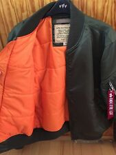 Alpha Industries MA1-TT Bomber Jacket Large