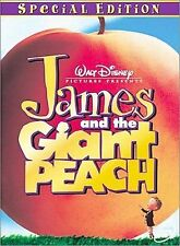 James and the Giant Peach (DVD, 2000) BRAND NEW DISNEY sealed NIP stamped