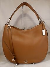 NWT COACH NOMAD HOBO IN GLOVE TANNED SADDLE LEATHER HANDBAG 36026