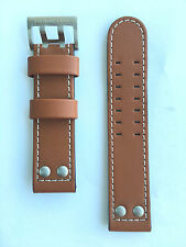 Original Hamilton Khaki X-Wind Brown Leather 22mmStrap Band for Watch H77616533