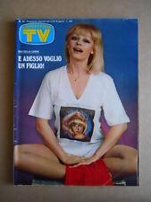 TV Sorrisi e Canzoni n°32 1979 Raffaella Carrà -Speciale Donatella Rettore [G436