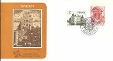 SWEDEN FIRST DAY COVER 1978 EUROPA