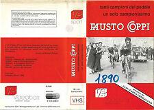 FAUSTO COPPI (1986) TANTI CAMPIONI UN SOLO CAMPIONISSIMO vhs ex noleggio