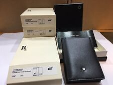 MONTBLANC MEISTERSTUCK BUSINESS CARD HOLDER WITH GUSSET #7167 - NEW IN BOX