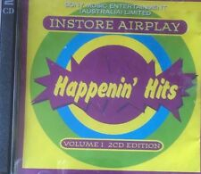 Sony Music PROMO Happenin' Hits Instore Airplay Volume 1  2-CD Album Various GC