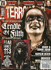 TERRORIZER UK 229 November 2012 CRADLE of FILTH Swans God Seed Napalm Death + CD