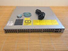 Cisco Catalyst WS-C4948E-S Switch 48x 10/100/1000(RJ45)+4x 10GbE(SFP+) 1xPWR