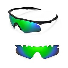 New WL Polarized Emerald Vented Replacement Lenses for Oakley M Frame Hybrid