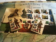 Zaporavo Conan Board Game Monolith W Character Sheet, Tiles And Counter