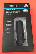 VISM VALGKM CREE LED 3w Flashlight w/ Integrated KeyMod Mount Black 150 Lumens