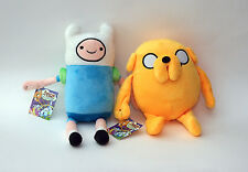 """Adventure Time With Finn, Jake and Beemo - 12"""" Plush Toys - Set of 3"""