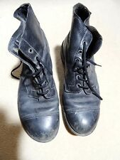 Vintage DMS Army Boots 1970's size 9. Used, but very good condition and soles.