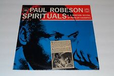 Paul Robeson~Spirituals~CBS Records 52300~Normand Lochwood~FAST SHIPPING