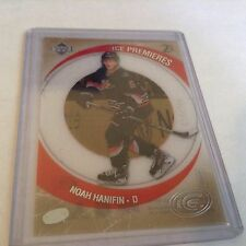 15-16 2015-16 UPPER DECK ICE NOAH HANIFIN ROOKIE RETRO /799 R-17 HURRICANES