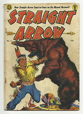 Straight Arrow #3 Red Hawk with Bob Powell art Frank Frazetta cover - GD 2.0