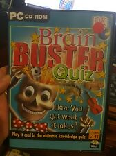 Brain Buster Quiz -  PC GAME- FREE POST