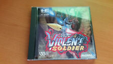 VIOLENT SOLDIER PC ENGINE HUCARD TURBO DUO/R/RX/CORE/SHUTTLE