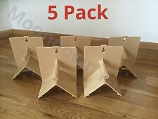 5 x V Plastic Roost Perches For Budgies, Finches, Canaries, Exotics Birds Perch