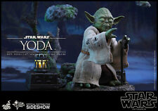 HOT TOYS 1/6 Star Wars Ep. V l'Impero colpisce ancora - Yoda PREORDINE PREORDER