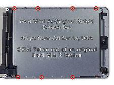 iPad Mini 2 or 3 Retina LCD Metal EMI Shield Screw Set (x7)