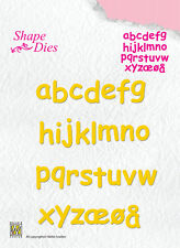 Nellie Snellen Cutting Dies Alphabet Letters Lowercase SD079 - Shape Dies
