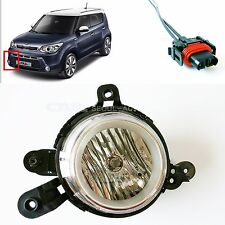 KIA 2014 2015 SOUL Fog  Lights Lamp + Connector Front Right Genuine 92202-B2010