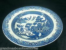 Churchill Blue Willow China LG PASTA SERVING BOWL Staffordshire England