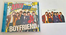 Boyfriend Dance Dance Dance My Lady Japan Normal Edi. CD Single Group Photocard