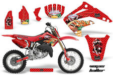 Honda CR 85 Graphic Kit AMR Racing # Plates Decal CR85 Sticker Part 03-07 VEGAS