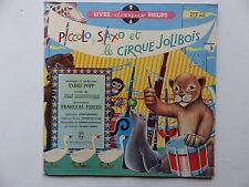 """25 cms 10"""" piccolo saxo   cirque Jolibois ANDRE POPP BROUSSOLLE FRANCOIS PERIER"""