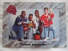 "1991 Classic Draft Picks Card #001 ""Future Superstars"" #1 Picks *LIMITED INSERT*"