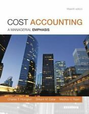 Cost Accounting 15th International Edition