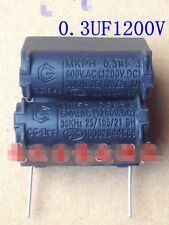 5pcs Cooker capacitors 0.3UF 1200V MKP capacitor resonant capacitor