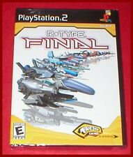 R-Type Final for the Sony Playstation 2 PS2 System NEW SEALED