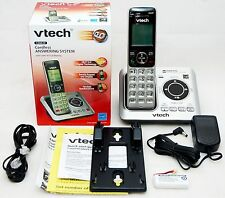 New V-Tech Landline Cordless Home/House Phone With Answering ID/Speaker System