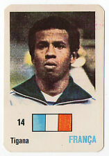 Football World Cup 1986 Portugese Pocket Calendar Jean Tigana France