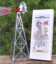 Aero Model 17 Inch UNASSEMBLED Miniature Steel windmill ..12.....  AEO-12-B