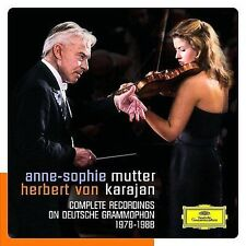 Mutter - Karajan: Complete Deutsche Grammophon Recordings  5-CD Box Set  NEW