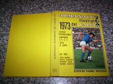 ALMANACCO ILLUSTRATO DEL CALCIO 1973 PANINI PERFETTO NO RIZZOLI-CARCANO-ALBUM
