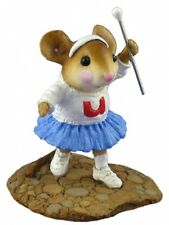 Wee Forest Folk MP-6 MAJORETTE  -  Retired Mouse Parade