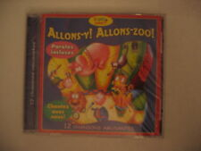 FRENCH SONGS CD ALLONS-Y! ALLONS ZOO! MUSIC CHILDREN KIDS BABY LEARNING LYRICS
