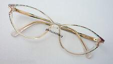 OWP hochwertige Damenbrille in Kunststoff Markenfassung Cateyeform GR:M 54-14