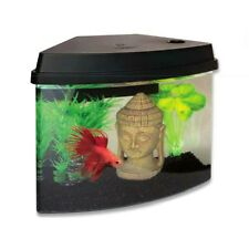 Superfish Cascade 4 Fish Tank Aquarium Black 3.8L