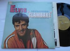 ELVIS PRESLEY Clambake VG++ to  NM- SHRINK CANADA TAN LABEL RCA OST LP