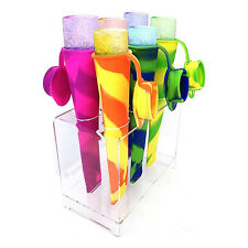 BPA-Free Silicone Ice Cream Pop Popsicle Mold Set of 4 Colors 1 pc