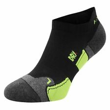 Karrimor Socks Running Trainer 2 Pairs Pack Mens DRX Fabric Black Size 7 to 11