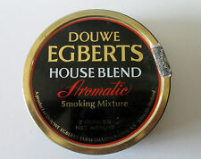 VINTAGE PIPE TOBACCO DOUWE EGBERTS TIN HOUSE BLEND SMOKING MIXTURE