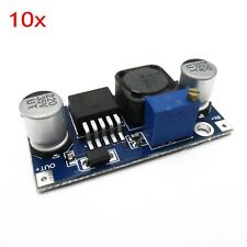 10pcs DC Power Converter Module 4A Max Step-up Boost XL6009 Replace LM2577