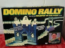 Domino Rally Basic Set Glow-In-The-Dark Stunts Creepy Castle and Ghosts #9526